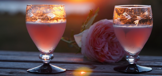 Cider i glas