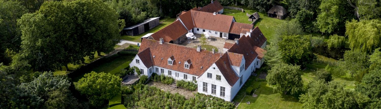 Dronefoto Malergården